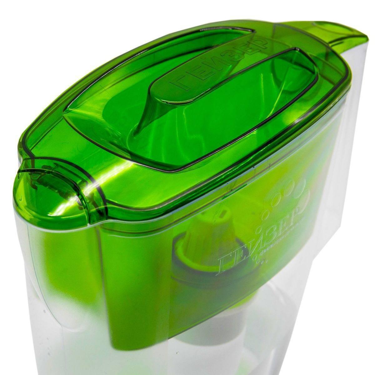 Jarra con filtro purificador de agua ALPHA - Geyser Filtros
