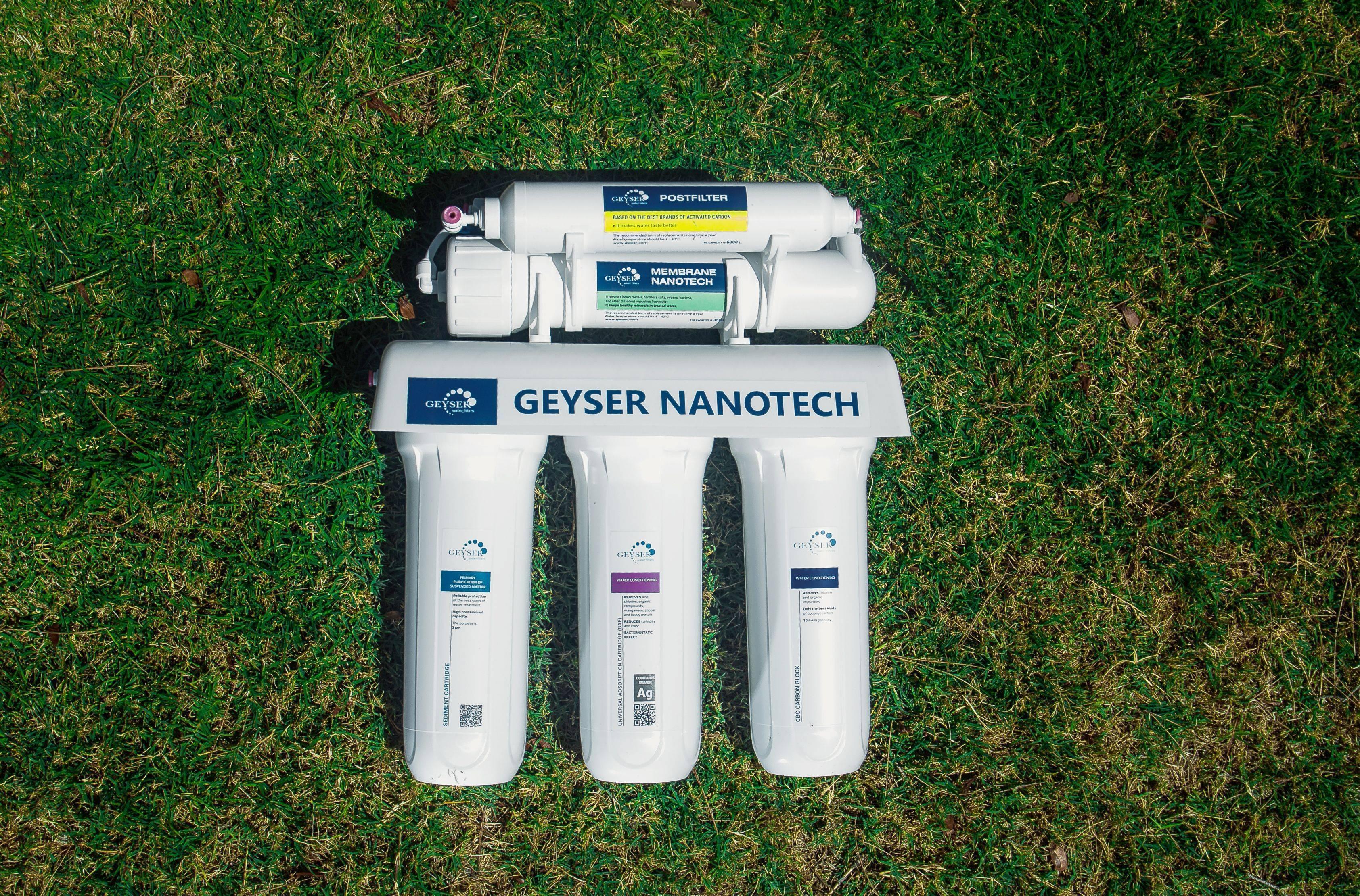 Sistema de osmosis inversa GEYSER NANOTECH