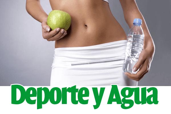 ¡Agua + deporte = cuerpo perfecto!
